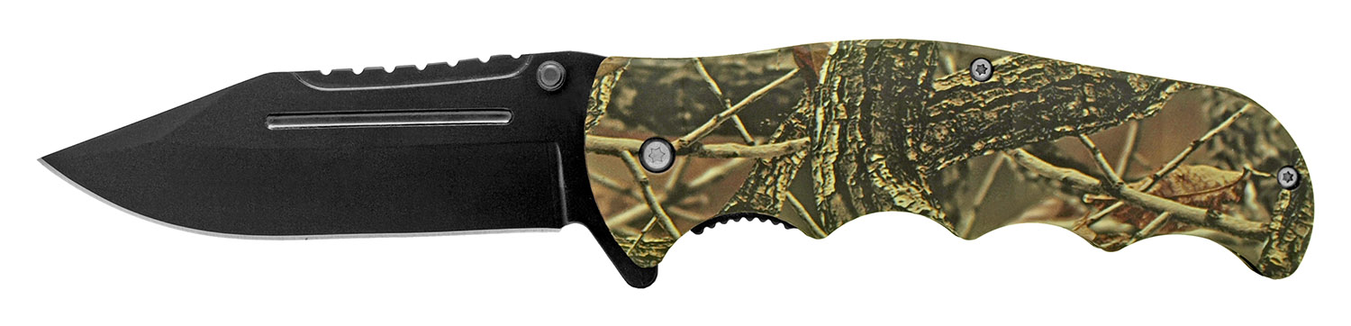 4.75 in Hunter's Pocket Knife - Forest Camo
