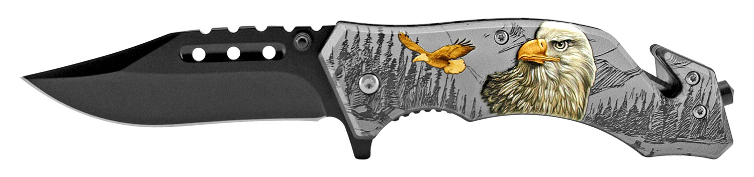 4.75 in Camping Pocket Knife - Eagle