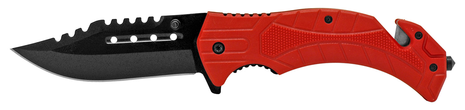 4.75 in Tactical Hunting Knife - Red