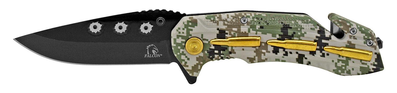 4.75 in Gun Fight Folding Knife - Digital Camo