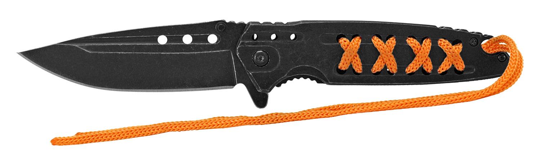 4.75 in Stainless Steel Folding Knife - Orange
