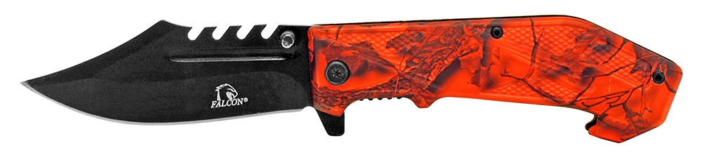 4.75 Hunter's Filet Knife - Orange Camo