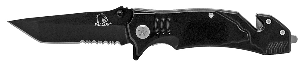 4.5 in Tactical Elite Folding Knife - Black