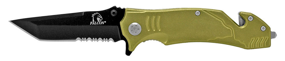 4.5 in Tactical Elite Folding Knife - Olive Green