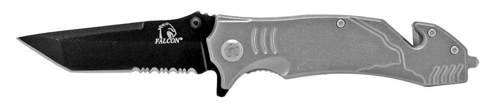 4.5 in Tactical Elite Folding Knife - Grey
