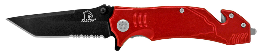 4.5 in Tactical Elite Folding Knife - Red