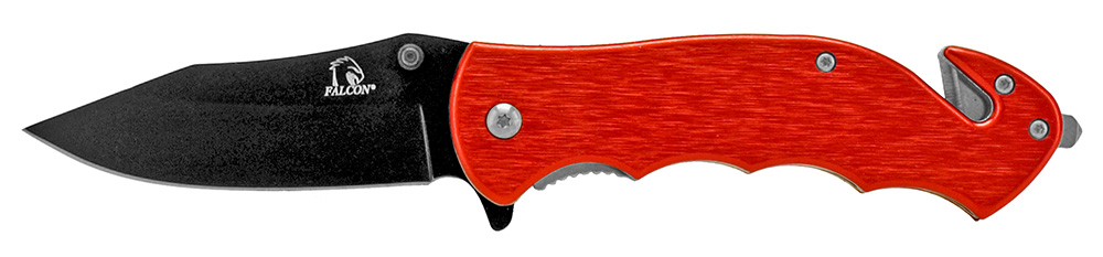 4.75 in Tactical Rescue Knife - Red