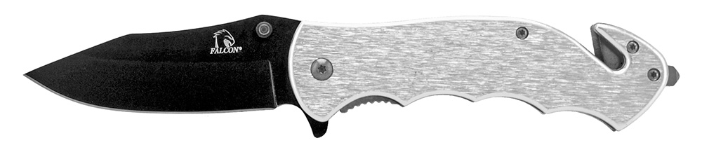 4.75 in Tactical Rescue Knife - Silver