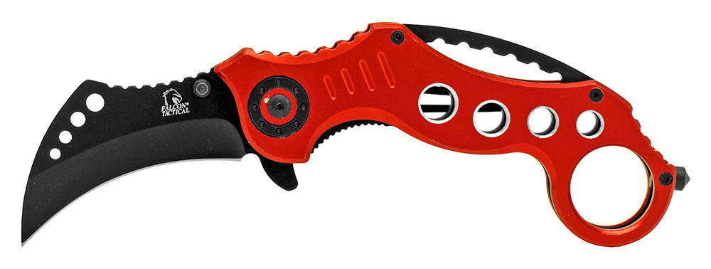 5.25 in Folding Rip Blade - Red
