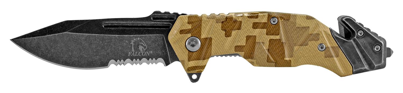 4.75 in Color Rush Rescue Folding Knife - Desert Digital Camo