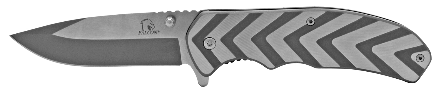 4.5 in Ultra Heavy Duty Folding Knife - Chrome