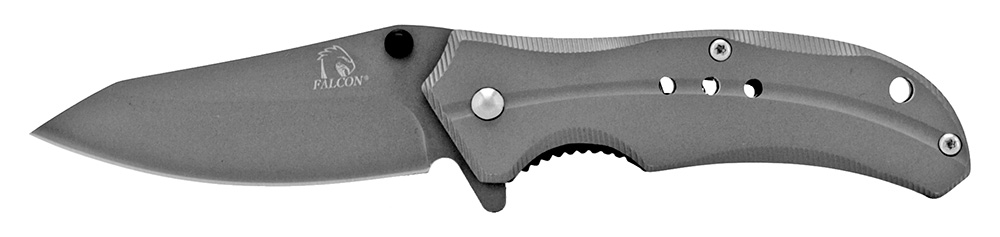 3.75 in Stainless Steel Pocket Knife - Grey