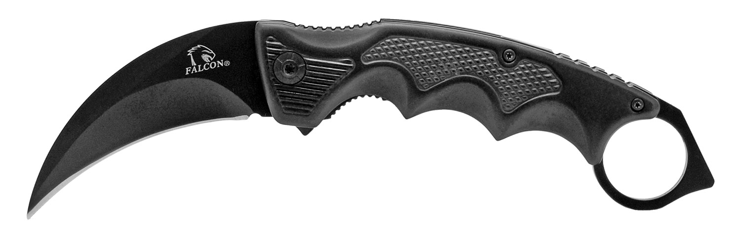 5.5 in Karambit Folding Knife - Black