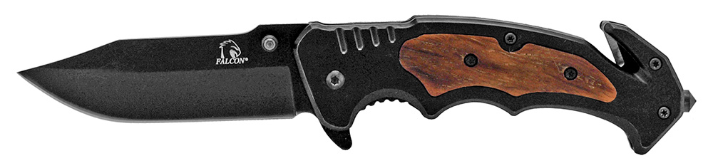 4.75 in Outdoorsman Stainless Steel Pocket Knife - Black