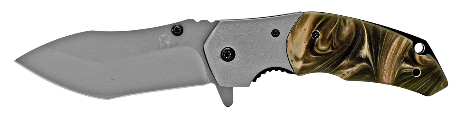 4.75 in Heavy Duty Hunter's Knife - Brown
