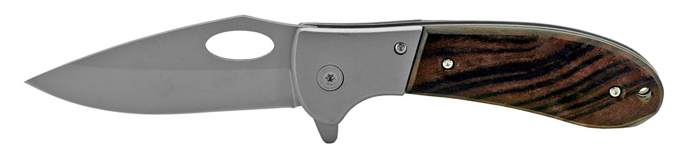 4.5 in Woodsman Folding Pocket Knife - Wooden