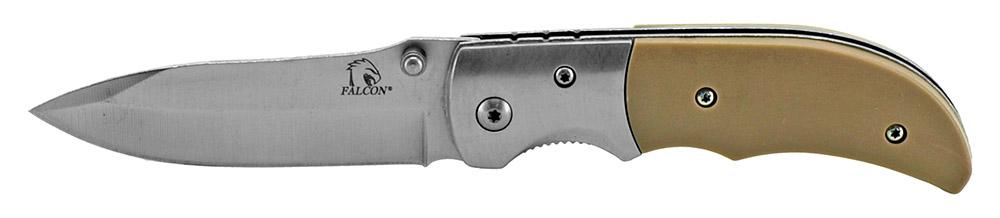 4 in Spring Assisted Folding Pocket Knife - Tan