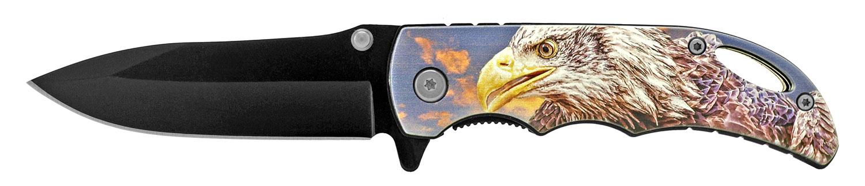 4 in Spring Assisted Pocket Knife - Eagle