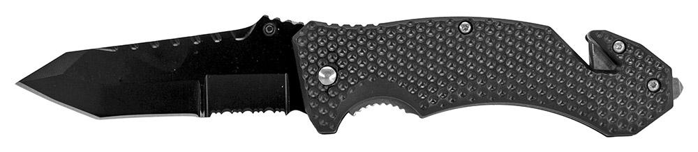 4.75 in Spring Assisted Folding Knife - Black