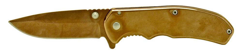 3.75 in Folding Pocket Knife - Bronze