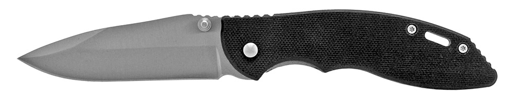 4 in Spring Assisted Folding Tactical Pocket Knife - Black