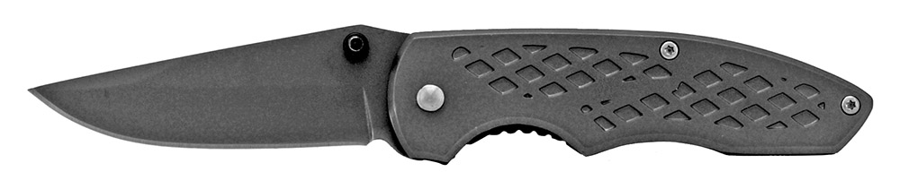 3.75 in Spring Assisted Folding Knife - Grey