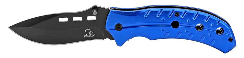4.5 in Spring Assisted Folding Knife - Blue