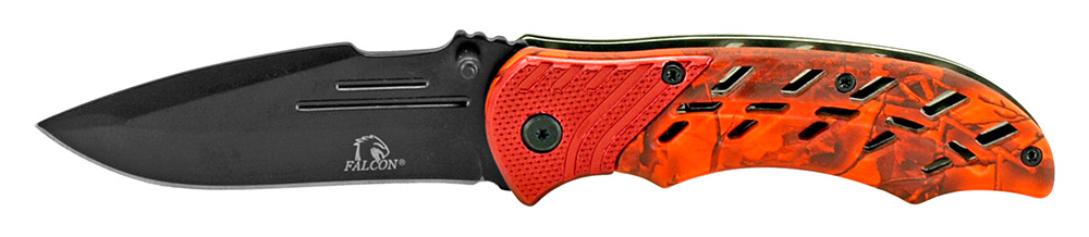4.5 in Spring Assisted Folding Knife - Red