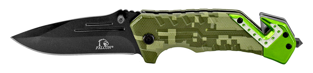4.5 in Spring Assisted Tactical Knife - Desert Digital Camo