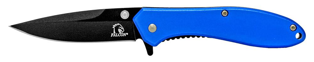 4 in Spring Assisted Pocket Knife - Blue