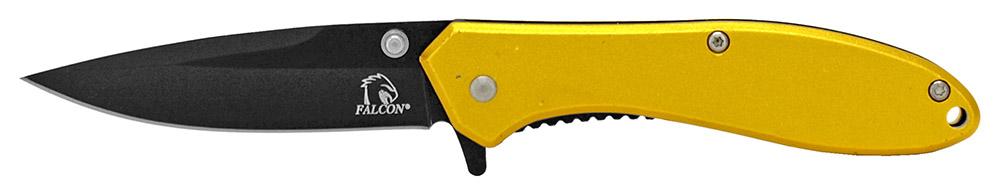4 in Spring Assisted Pocket Knife - Gold