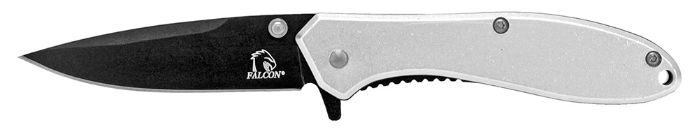 4 in Spring Assisted Pocket Knife - Silver