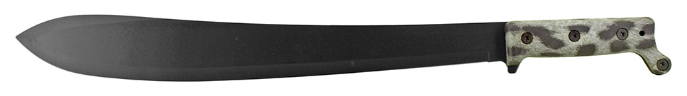21.25 in Stainless Steel Machete with Sheath - Snow Fur