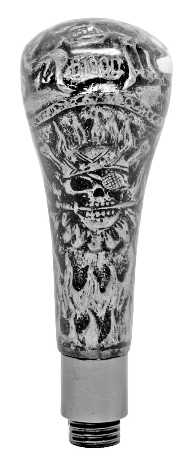 Pirate Skull Walking Cane with Blade