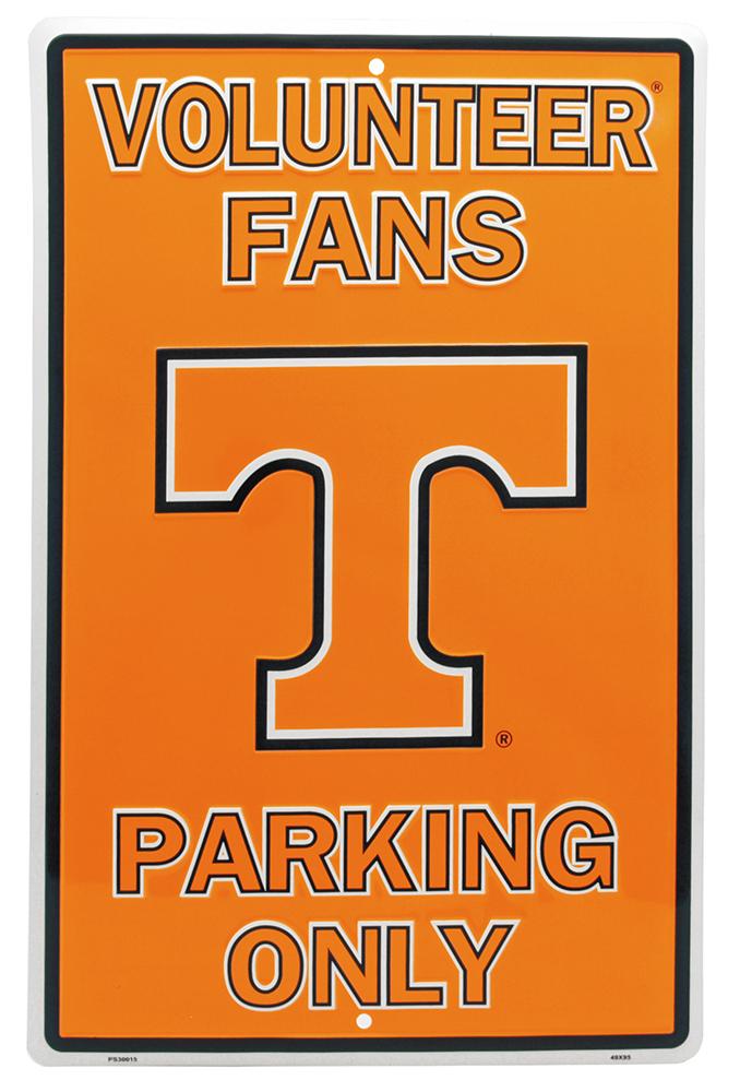 Volunteer Fans Parking Only Tin Sign