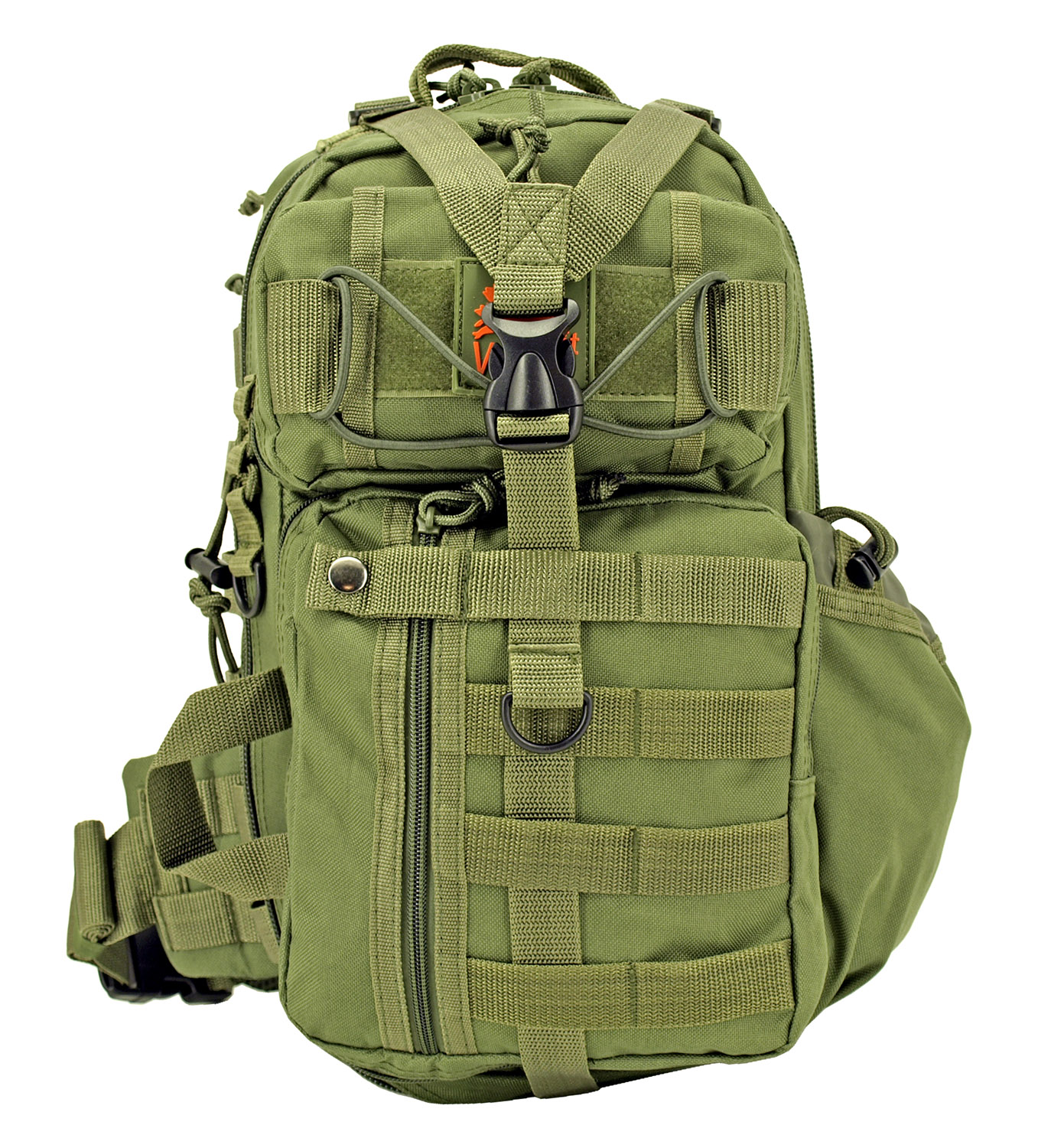 Tactical Readiness Sling Pack - Olive Green