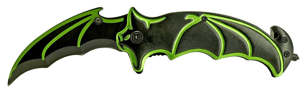 4.75 in Bat Wing Knife - Green