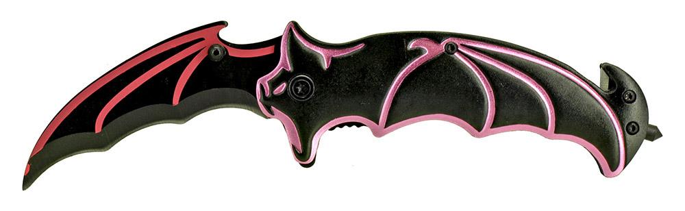 4.75 in Bat Wing Knife - Pink