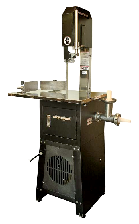 Meat Cutting Band Saw with Grinder
