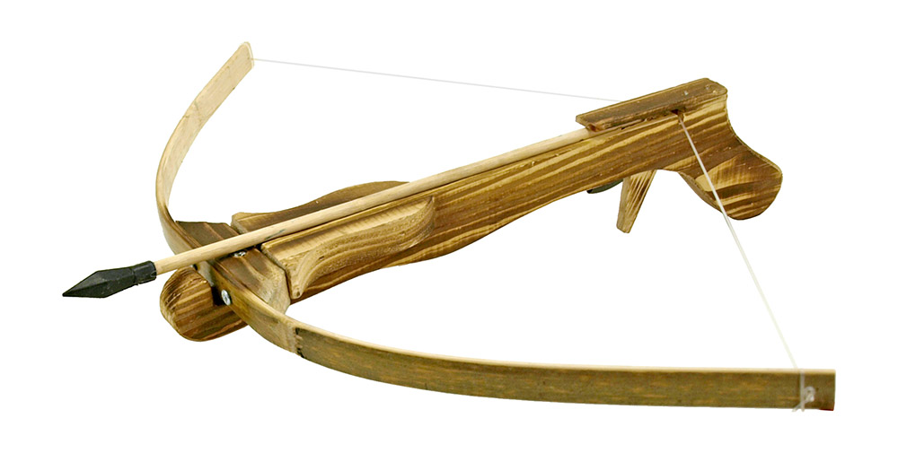 Wooden Crossbow and Arrows (Large)