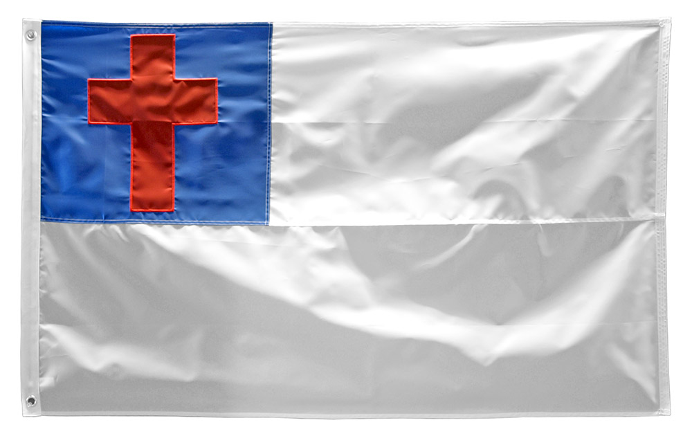 3' x 5' Christian Embroidered Flag
