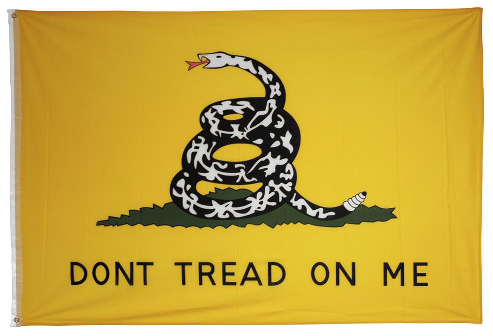 4' x 6' Gadsden Don't Tread on Me Flag