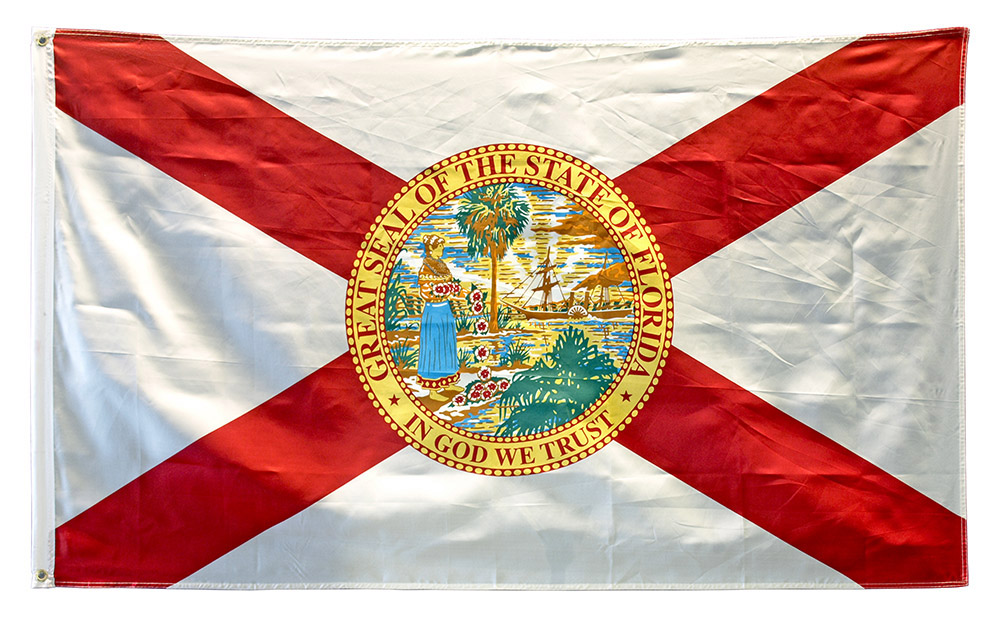 3' x 5' State of Florida Flag