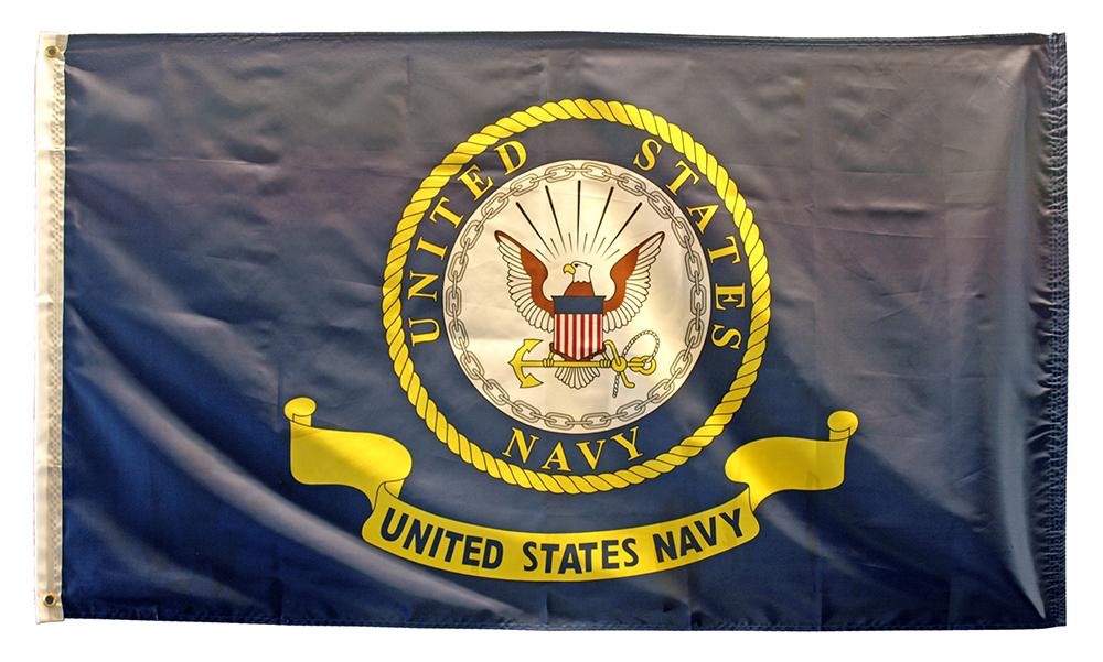 3' x 5' United States Navy Flag