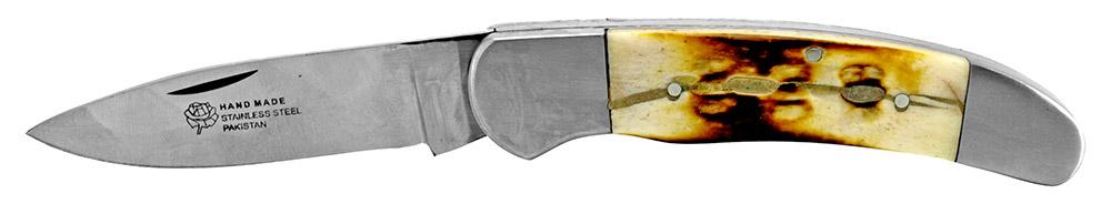 4.5 in Pocket Knife - Bone