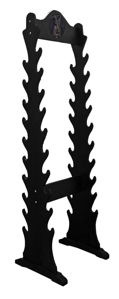 Double Sided Samurai Sword Stand