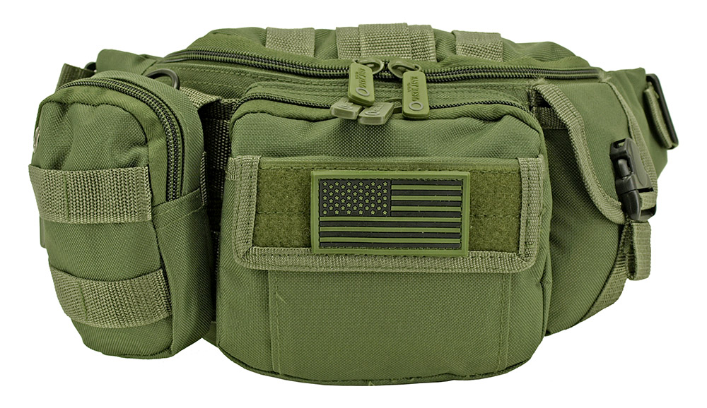 Tactical Fanny Pack - Olive Green
