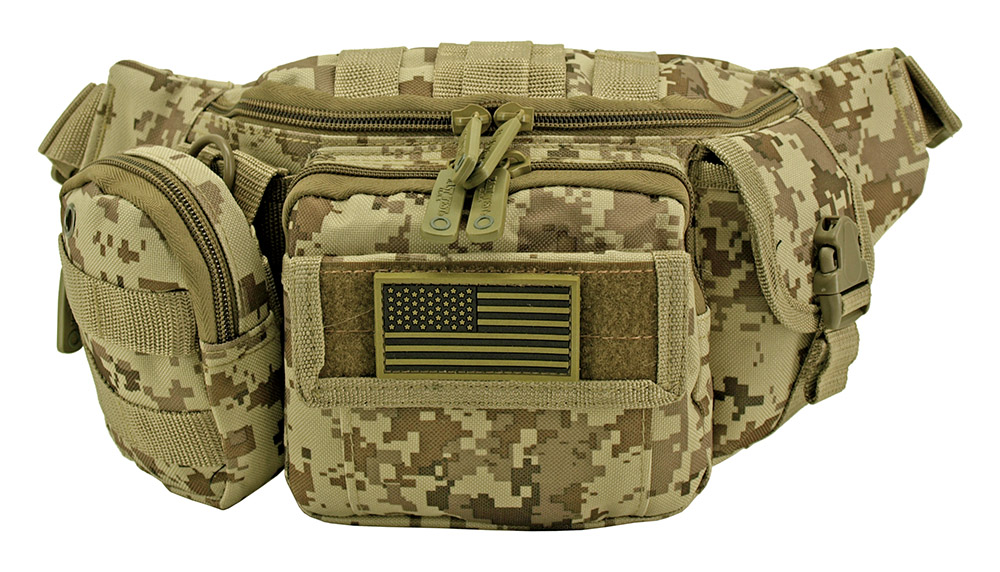Tactical Fanny Pack - Desert Digital Camo