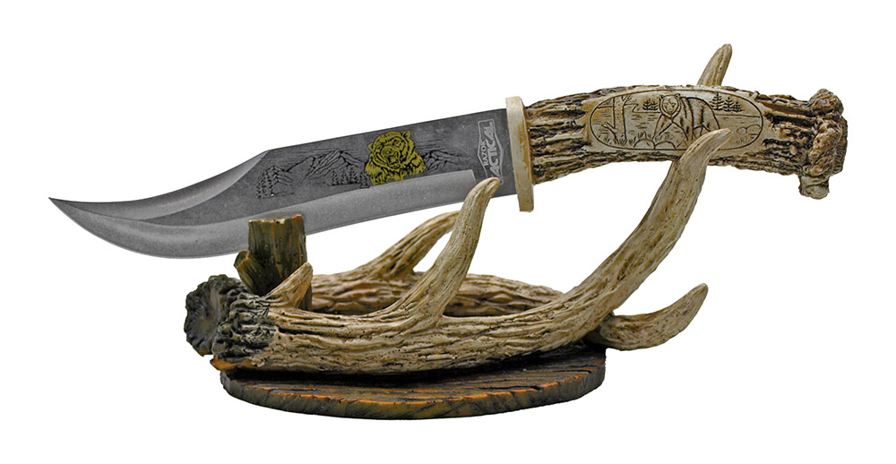 12 in Decorative Bear Hunting Knife