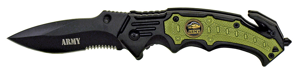 4.75 in Spring Assisted ARMY Knife